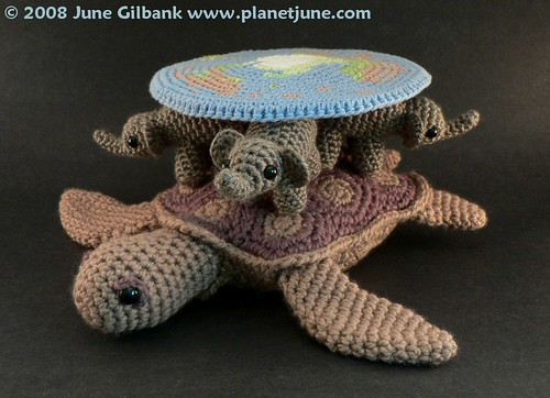 Amigurumi Discworld view 3 | by planetjune