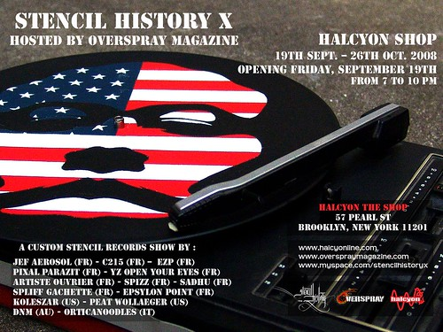 STENCIL HISTORY X GROUP SHOW BY HALCYON (NYC) | by stencilhistoryx