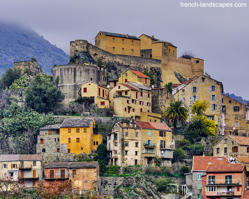 Winter morning in Corte - Corsica | by FrenchLandscapes