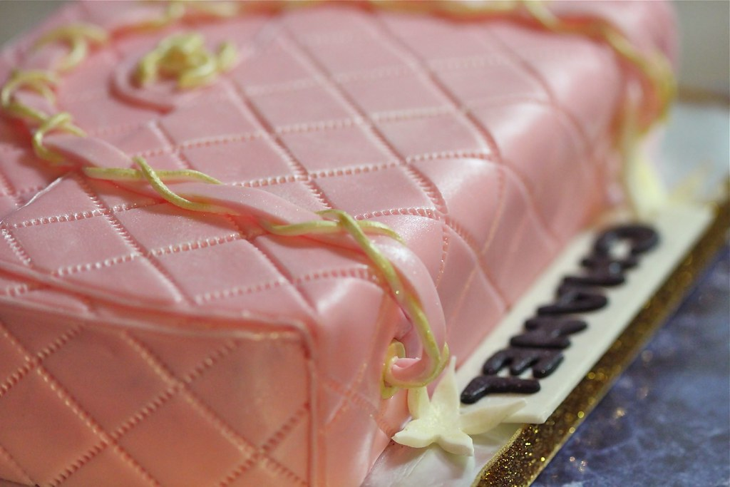 Pink Chanel Purse Cake Chanel Purse Cake by