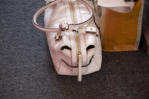 Smiling handbag