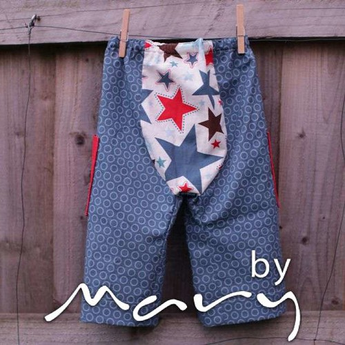 Big Butt Baby Pants - All Star back