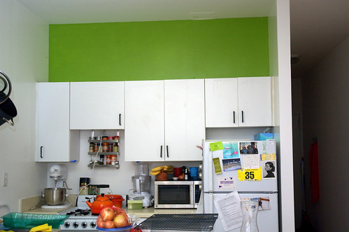 after: kitchen strip painted | by sassyradish