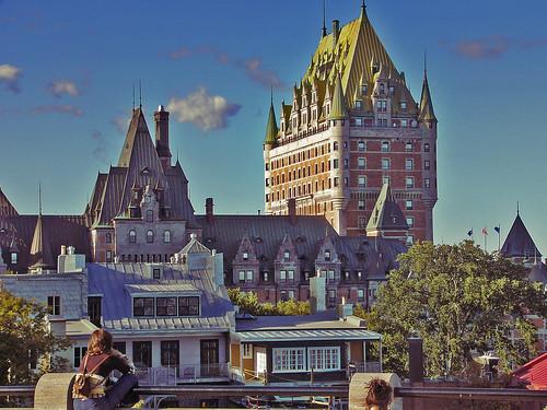 Château Frontenac, Québec.