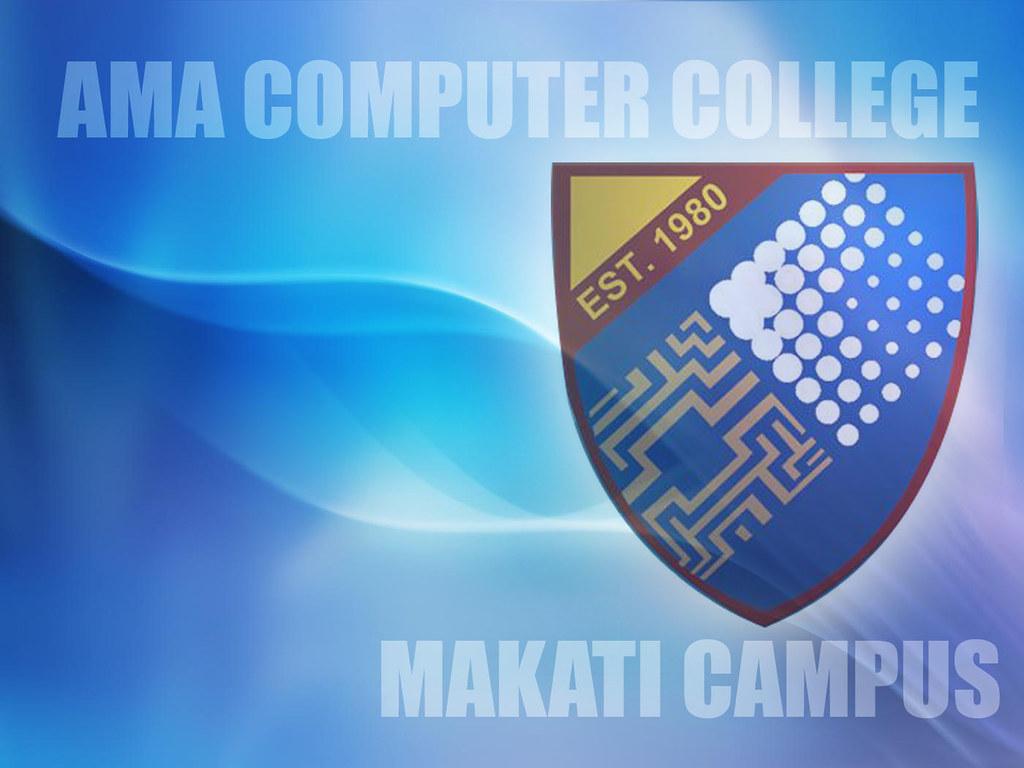 Computer College Logo Ama Computer College Logo
