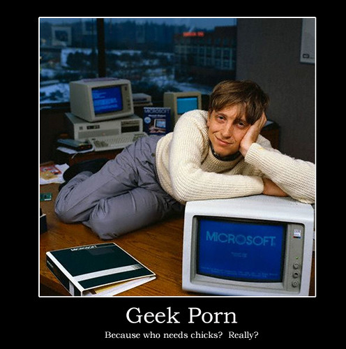 Motivational Poster -- Geek Porn | by Paxton Holley