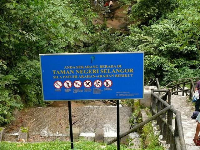 Malaysia Waterfall Map Ulu Yam Waterfall Malaysia