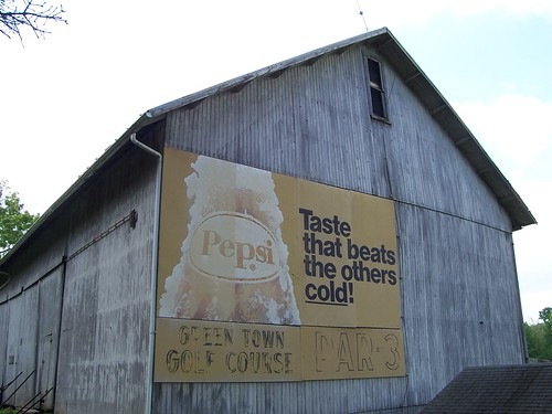 Pepsi Advertisement on Barn | by The Upstairs Room