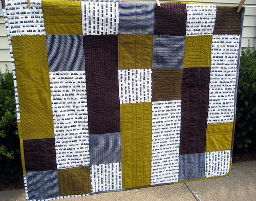 Zoom Zoom Quilt | by Handpicked