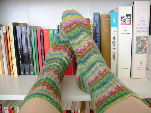 topographical socks | by katie:m