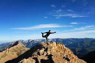 11,750 Foot Yoga Moment | by a4gpa