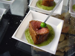 Lamb Sirloin with Sweet Pea and Minted Pesto from Basi Italia | by swampkitty