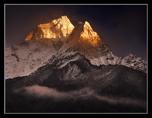 Clearing Storm over Ama Dablam by Michael Anderson | by AndersonImages