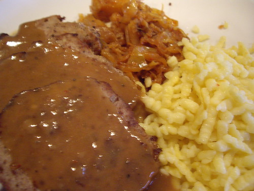 Austrian Meatloaf from Oleg's Tavern | by swampkitty