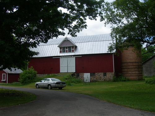 Red Barn & Silo | by jimmywayne