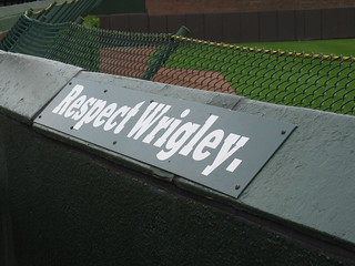 Bleacher Sign | by Ed Nickow