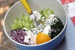 feta salad fixings | by David Lebovitz