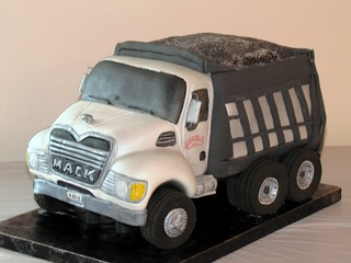 Dump Truck Cake | by EForkey (formerly EB Cakes)