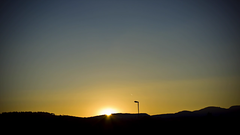Sunset - a moving picture by Adamus W. Adelus