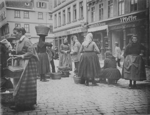 Peasants at Market, Giessen (Germany) (1890) | by DickinsonLibrary
