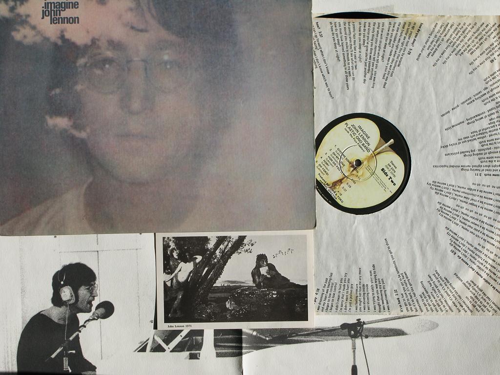 John Lennon Imagine Album Value John Lennon Imagine Flickr