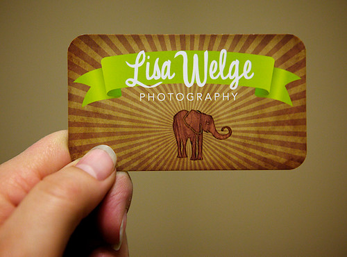 New Business Card Front | by Lisa Bardot | The Goodness