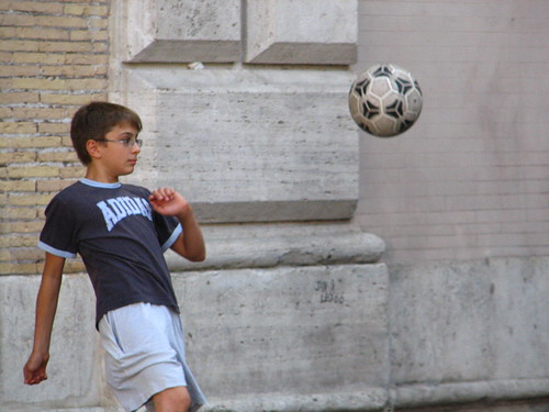 Little Italian playing Footie | by SeppySills