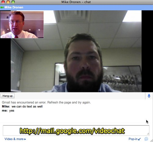 google video chat meet real