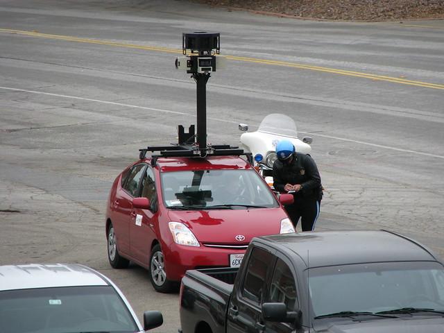 Auto Google Maps Google Maps Car Busted
