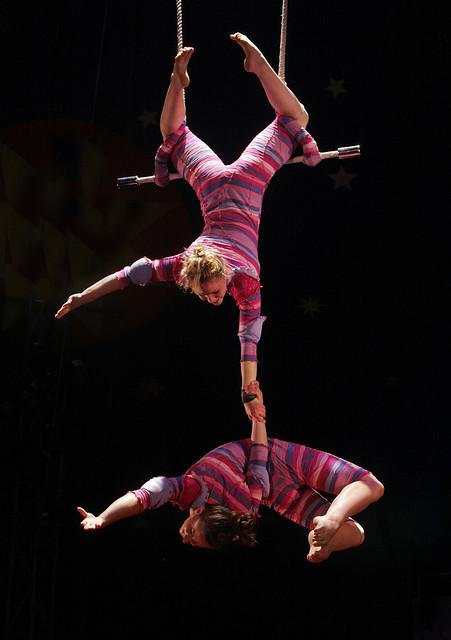 Circus Smirkus - Static Trapeze