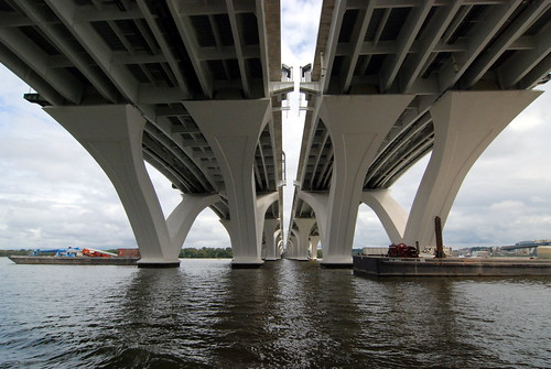 Woodrow Wilson Bridge Underside | by Kevin H.