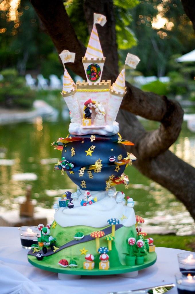 Super Mario Kart Wedding Cake Flickr Photo Sharing