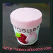 Felt Food Strawberry Yogurt