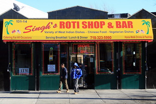 Singh's Roti Shop & Bar, Richmond Hill, Queens | by Eating In Translation