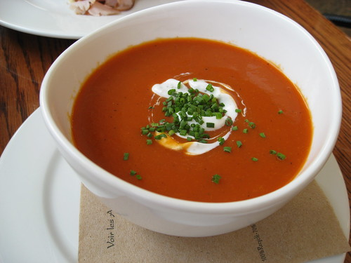 Chilled Roasted Red Pepper Soup | Flickr - Photo Sharing!