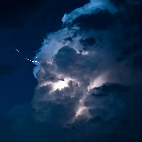 Cloud Lightning | by Tim Stone