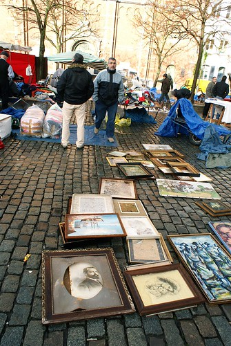 Flea market Brussels | by Peter.Lorre