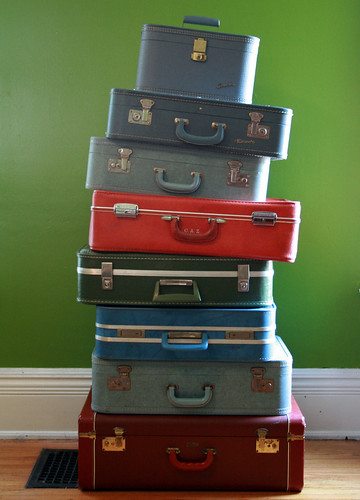 more suitcases | by flint knits