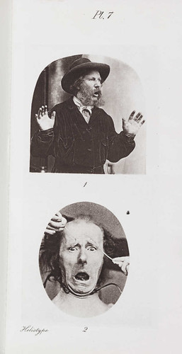 'Fear' from 'The Expression of Emotions in Man and Animals' London 1872.  Charles Darwin (1809-1882) | by National Media Museum