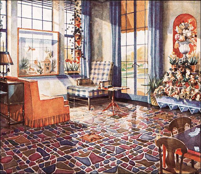 1930s interiors | flickr