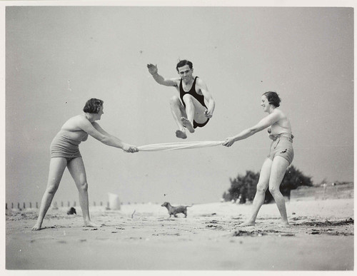 Exercising on the Beach | by National Media Museum