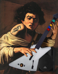 Caravaggio's Guitar Hero | by The PIX-JOCKEY (visual fantasist)