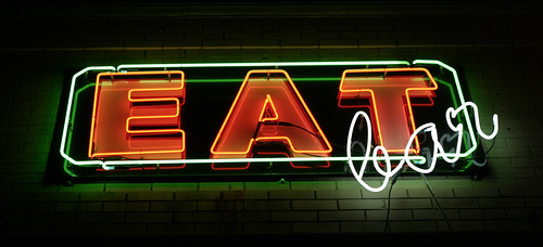 Eat Bar Neon Sign | by kaszeta