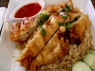 Thai Fried Chicken Fried Rice at Osha | Andrew Mager | Flickr