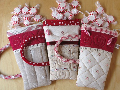 Peppermint Pouches | by PatchworkPottery