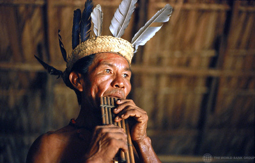 A member of the Tariana tribe in the Amazon region of Brazil | by World Bank Photo Collection