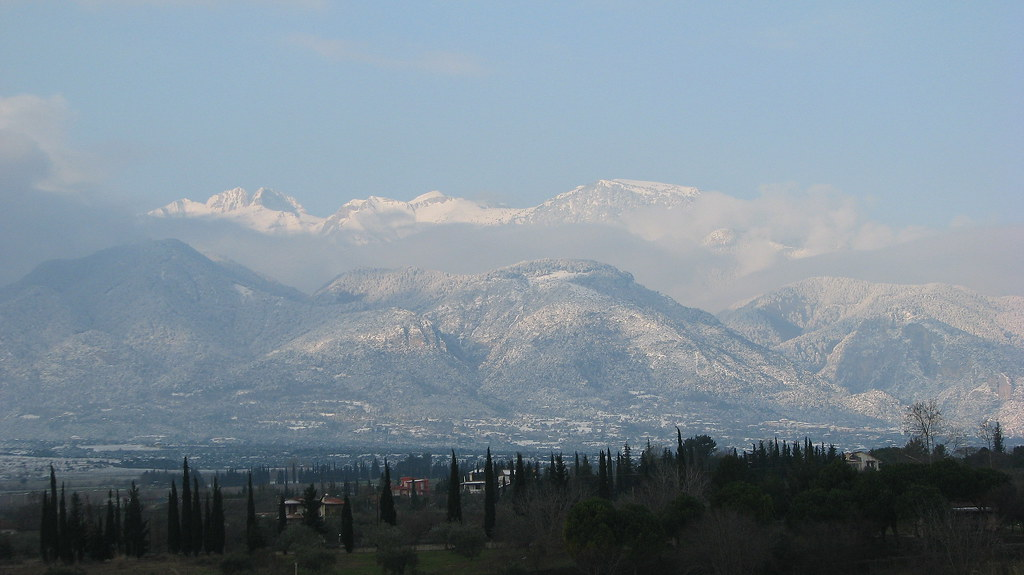 Natural Wonder In Greece - Mount Olympus