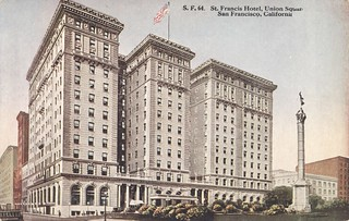 St. Francis Hotel - San Francisco, California | by The Cardboard America Archives