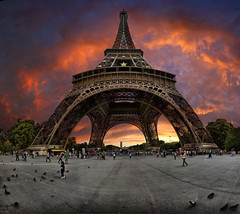 Eiffel tower, Paris, France.  Tourist, photographer, if you go, once to this great place, remember this picture | by Gaston Batistini