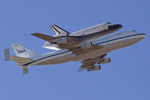 Space Shuttle Flyover | by saroy